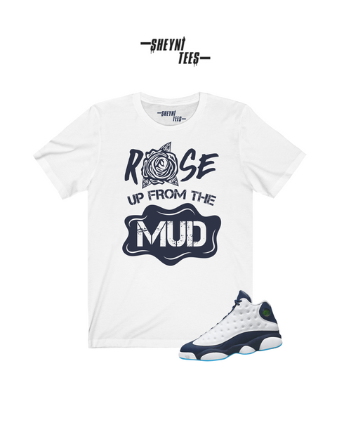 Rose From The Mud  Sleeve Tee