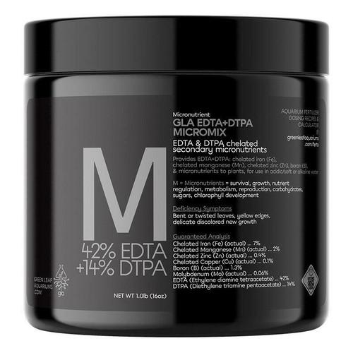 GLA (EDTA+DTPA) Micromix Aquarium Fertilizer - 1lb Jar