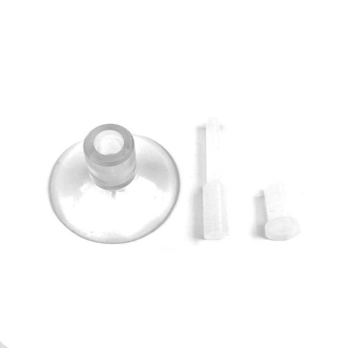 Suction Cup & Silicone Plug for Cal Aqua Labs - Pearl