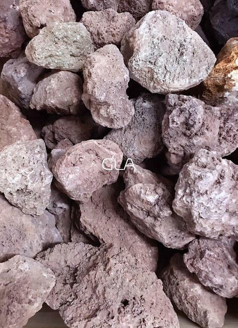 Red Lava Stone - $5/lb
