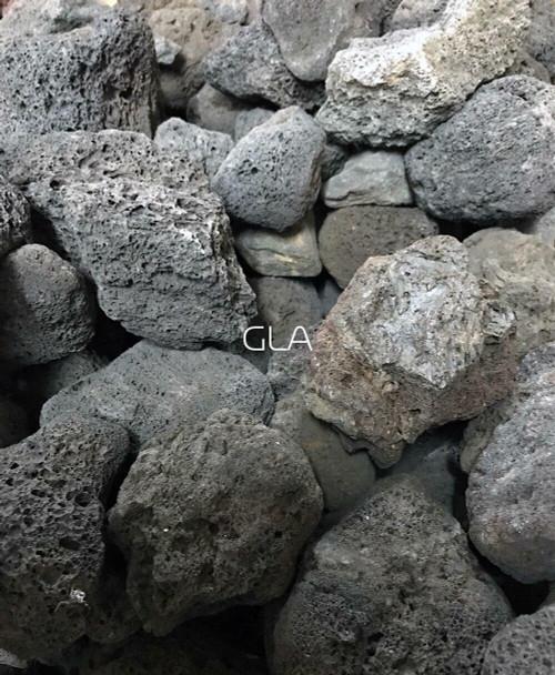 Black Lava Stone - $5/lb