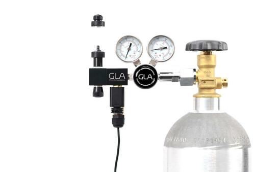 GLA PRO-DS-1 Dual Stage CO2 Regulator (Modular) (DIN477)