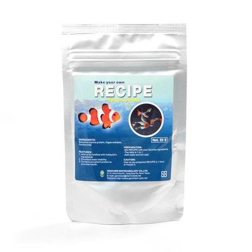 Recipe - Foddle for DIY Aquarium Fish Food (Fish)