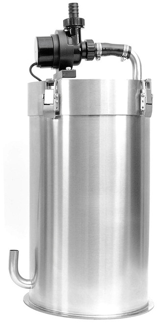 GLA Infinite Nature Filter SS/15L - Stainless Steel Aquarium Canister Filter