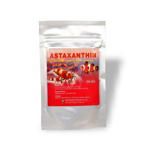 Astaxanthin - Functional Supplement (Shrimp and Fish)