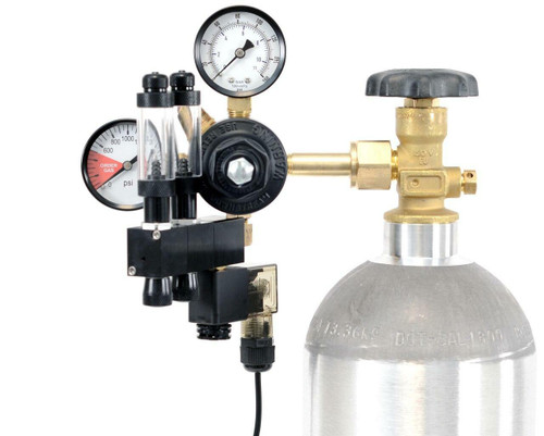 GLA PRO-2 Aquarium CO2 Regulator (2 Block Modular Manifold)