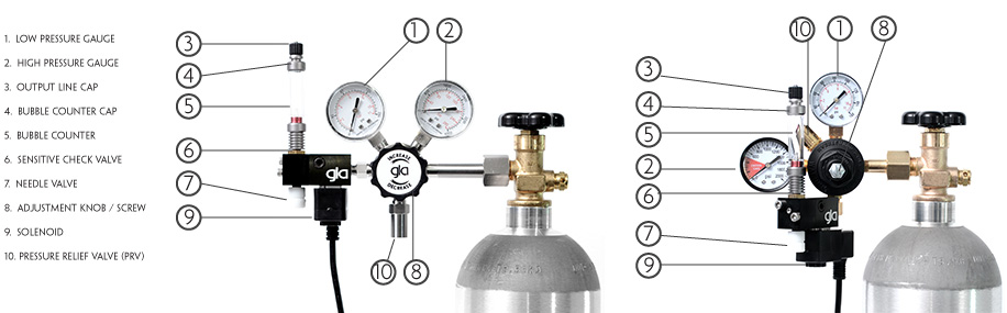 Understanding the CO2 Regulator and Planted Tank
