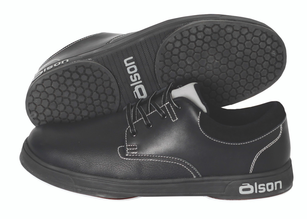 Genesis Black Leather Curling Shoes