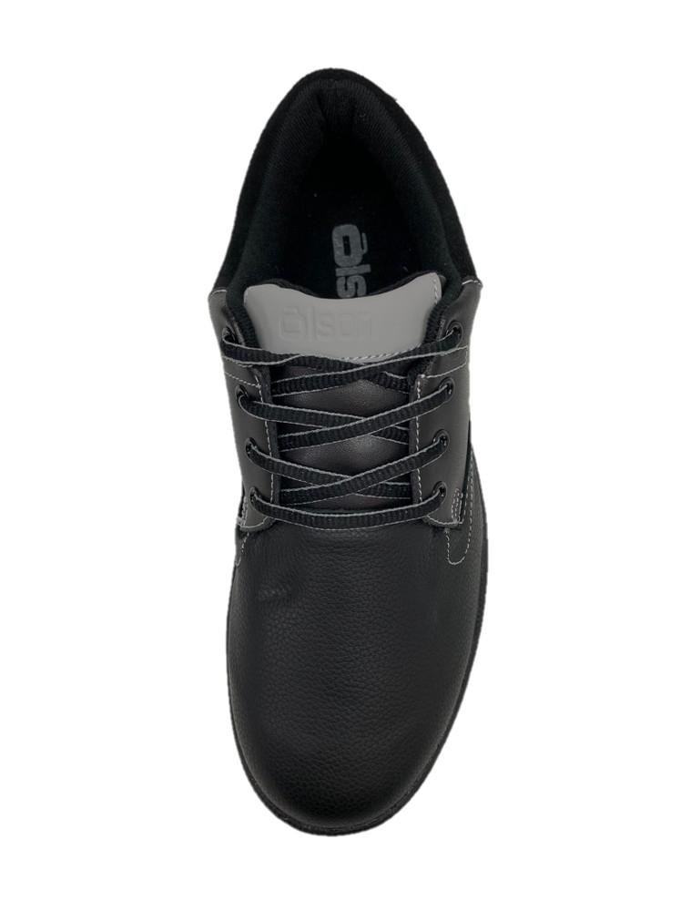 "Jill - Genesis Black Leather 1/8"" Flex Perimeter Slider"