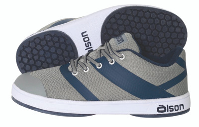 "Jill - CrossKicks Grey/Navy 1/16"" Split Slider"