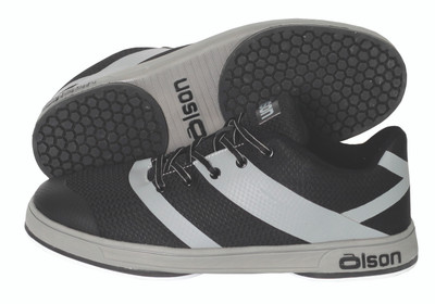 Jill - CrossKicks Black/Grey Double Gripper