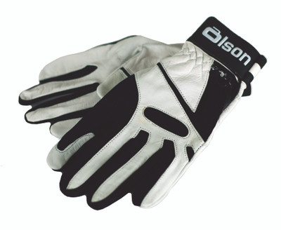 Ultrafit White Curling Gloves
