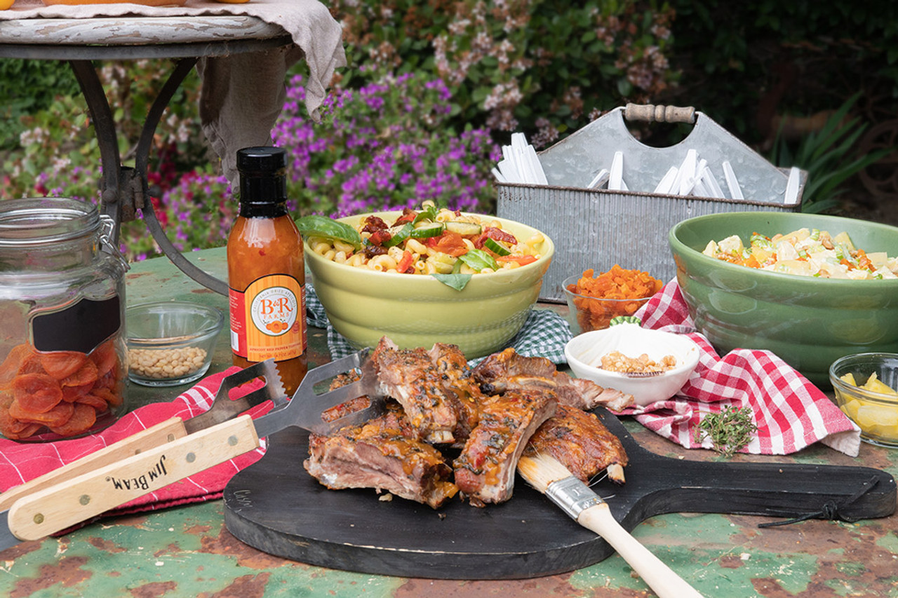 Host The Ultimate Memorial Day Backyard BBQ with Blenheim Apricot Recipes