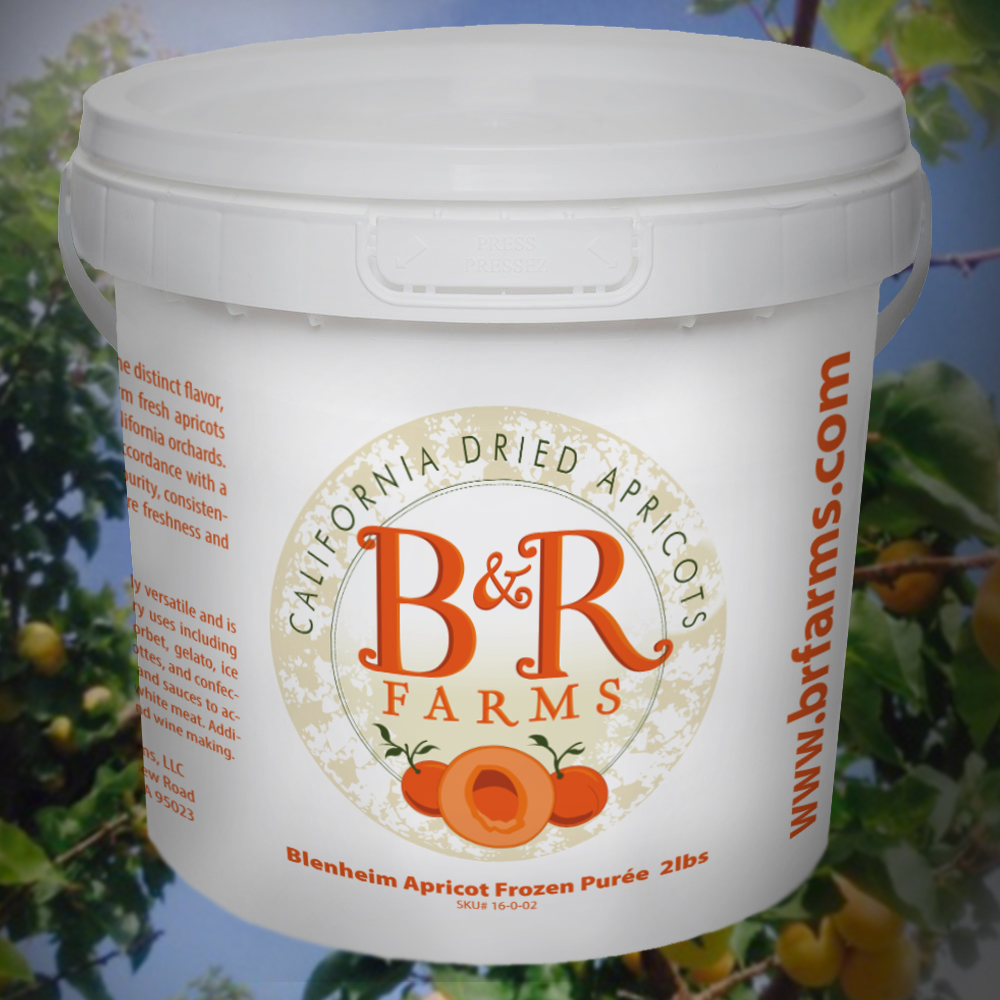 Frozen Apricot Puree Pail On Sale! (Overnight Service Required)