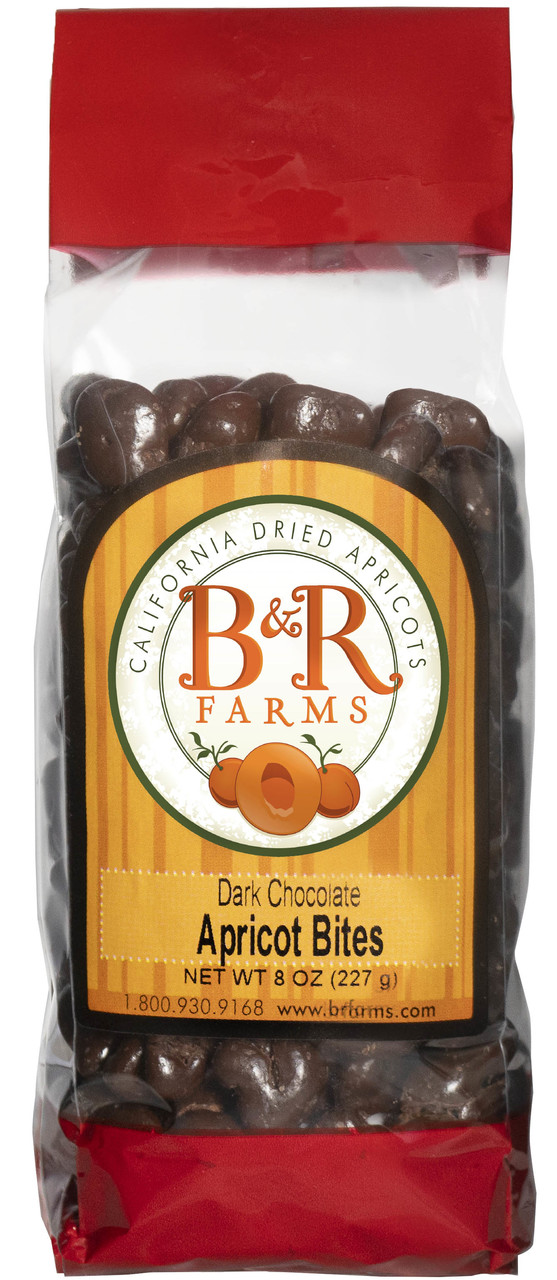 Apricot Dark Chocolate Bites (8 ounce)