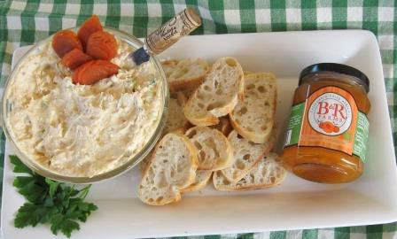 Recipe: Apricot Gorgonzola Cheese Spread