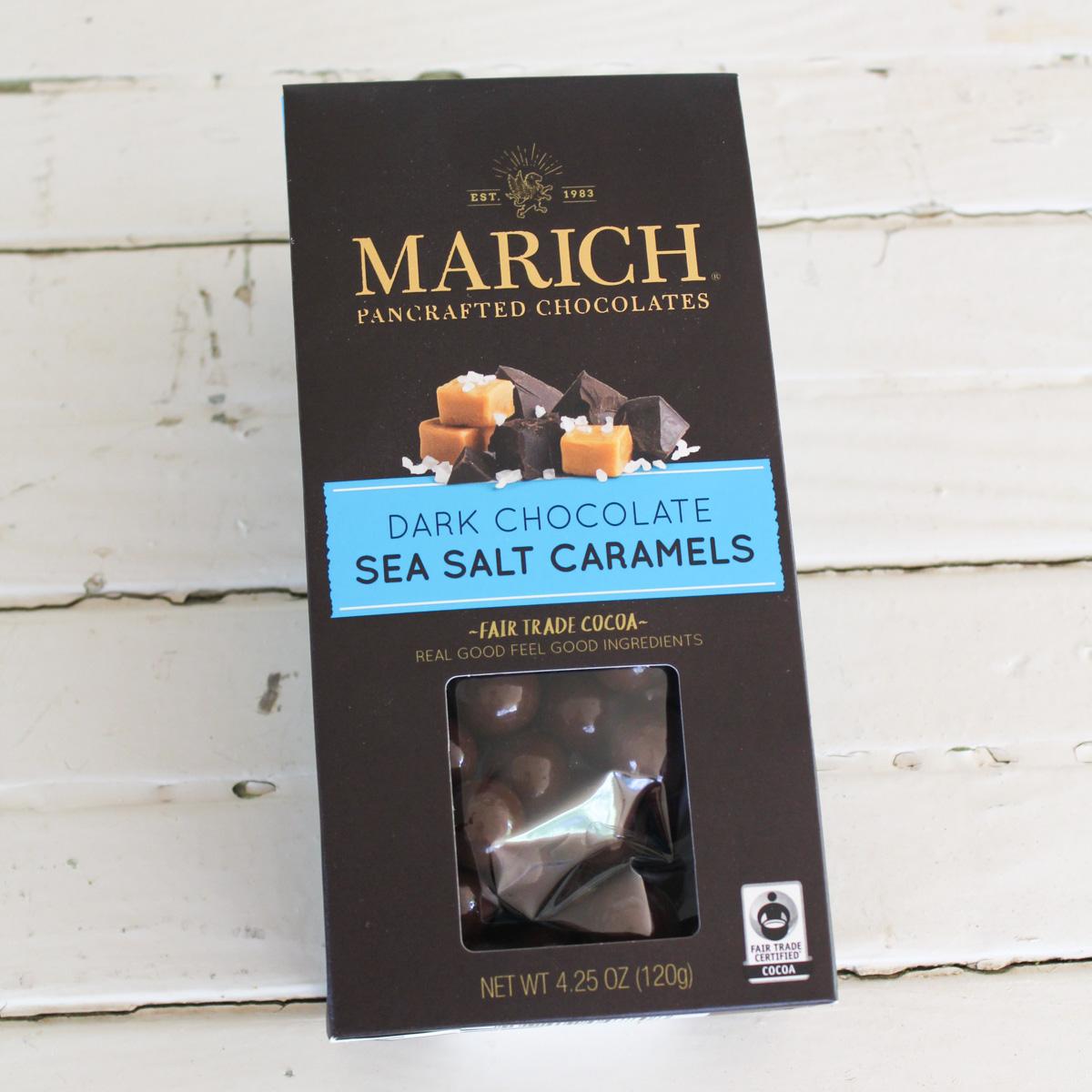 Dark Chocolate Sea Salt Caramels