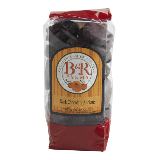 Dark Chocolate Covered Apricot Nibbles - Temporarily Sold Out!