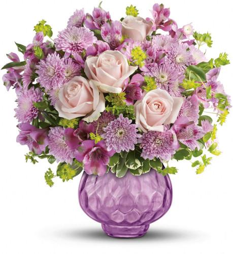 Lavender Chiffon Bouquet