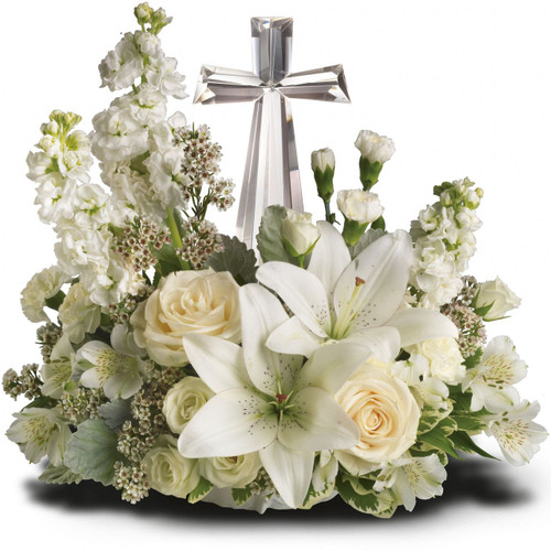 Divine Peace Bouquet - Lillies