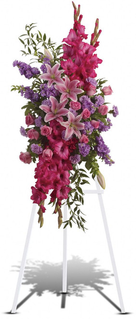 Express admiration for her beauty and spirit with a striking tribute certain to evoke many cherished remembrances.