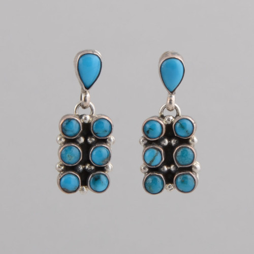 Turquoise Earrings by Charlene Chas