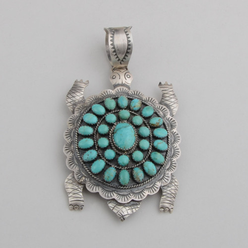 Turquoise Turtle by Lester James