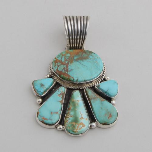 Royston Turquoise Pendant by La Rose Ganadonegro