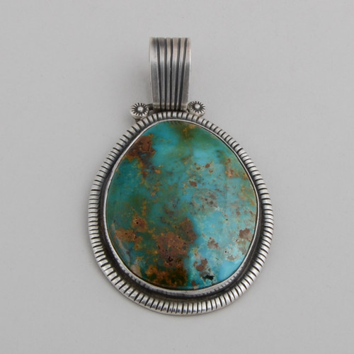 Turquoise Pendant by Ida Morgan
