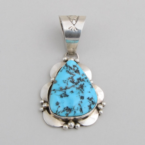 Turquoise Pendant by  M. Spencer