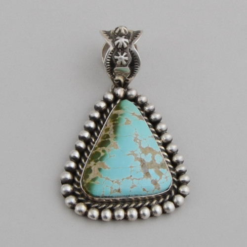 Turquoise Pendant by  A.  Piasso