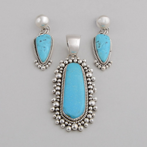 Turquoise Set by Artie Yellowhorse