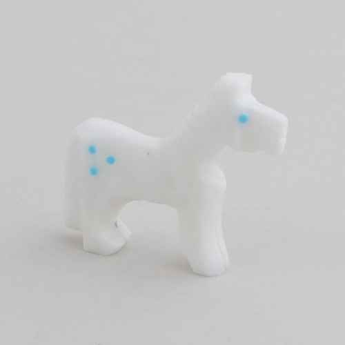 Alabaster Horse.  The Horse Symbolizes Strength, Enlightenment, Swiftness, Healing Powers