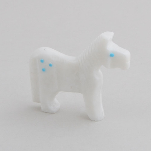 Alabaster Horse.  The Horse Symbolizes Strength, Enlightenment, Swiftness, Healing Powers.