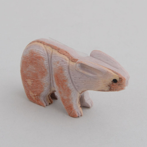 Marble Rabbit.  The Rabbit Symbolizes Virtue, Serenity, Safe Child Birth.