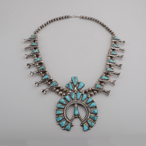 Squash Blossom Necklace by Gary Morris, circa 1970