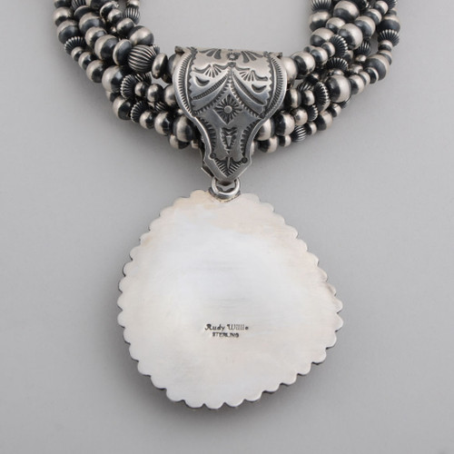Spiny Oyster Shell necklace with pendant back