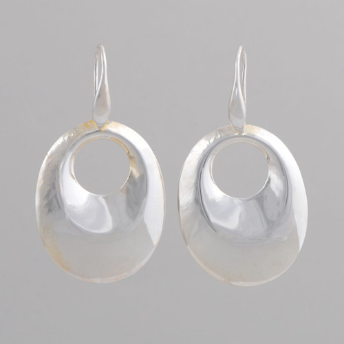 These Peyote Bird earrings feature wonderful Sterling Silver!