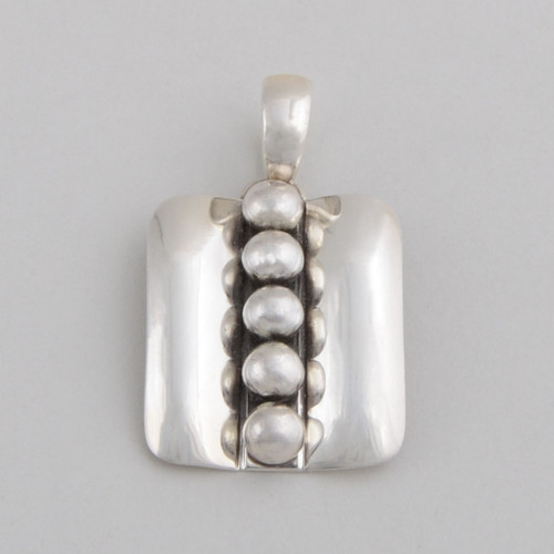 Very nice sterling silver pendant