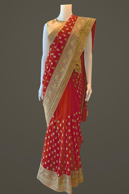 Red Saree (D1049)