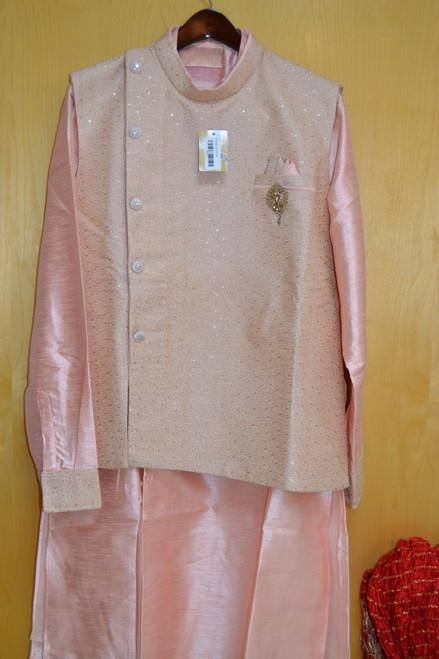 Pink kurta pajama (M0366A)