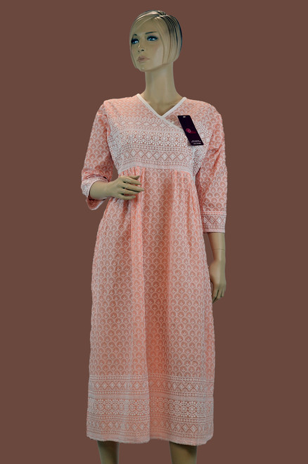 Light Pink Color Kurti (T0179)
