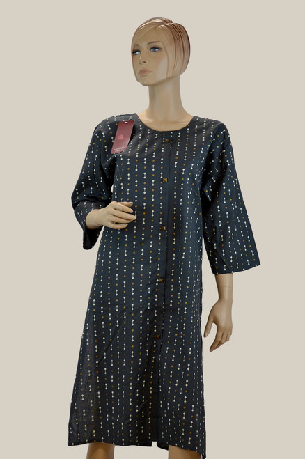 Dark Grey Color Kurti (T0201)