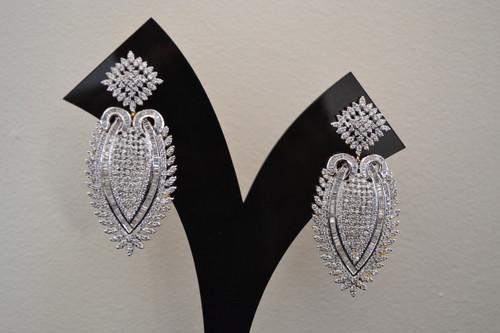 American Diamond Fashion Earrings (JE006)