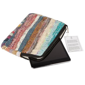 Upcycled iPad or Makeup Purse