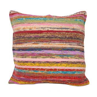 Upcycled Sari Square Pillow Cover