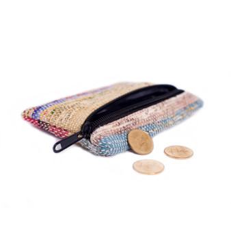 Upcycled Sari Coin Purse