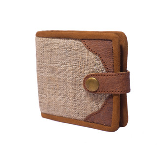 Nettles and Leather Wallet