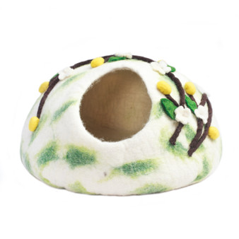 Felt Flowers Pet House