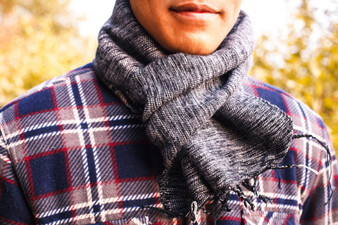 Small Wool Scarf